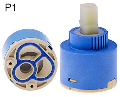 - Ersatz-keramik-kartusche (40MM Keramik Kartusche / Armatur Wasserhahn Ersatz Keramik Steuer Kartusche / Patrone 40 mm)