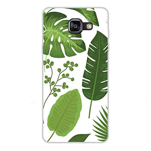 Todo Phone Store Custodia Cover [Disegno] Silicone TPU Gel [Fiori 006] per [Samsung A5 (2016) A510F]