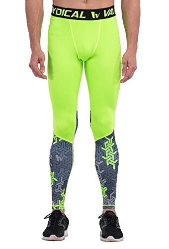 8066dd28fe Fringoo ® Mens Compression Tights Workout Training Leggings Running Gym  Thermal Base Layer Bottom S /
