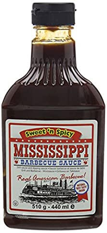 Mississippi Barbecue Sauce Sweet N Spicy 510 g (Pack of 3)
