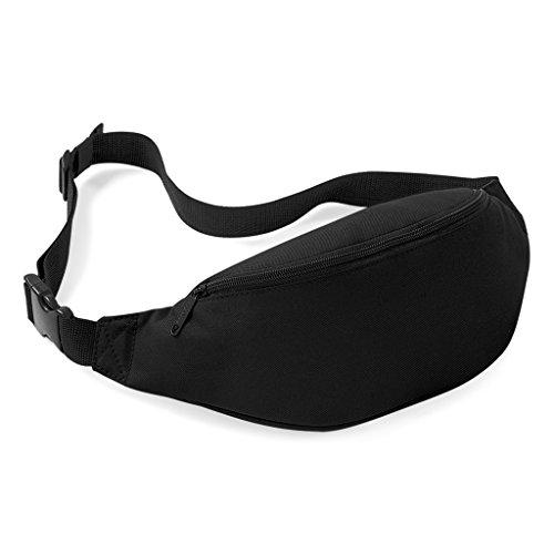 Praktische Hüfttasche Bauchtasche für Geld, Schlüssel und Handys usw. Sporttasche Schwarz