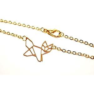Origami Tierchen - Lasercut Armband goldfarben ZUM AUSSUCHEN, 16/17cm plus Verlängerungskettchen, Armband Handmade