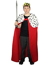 The Dragons Den Childs Deluxe Kings Cape Childrens Book Week Fancy Dress Age 8-12