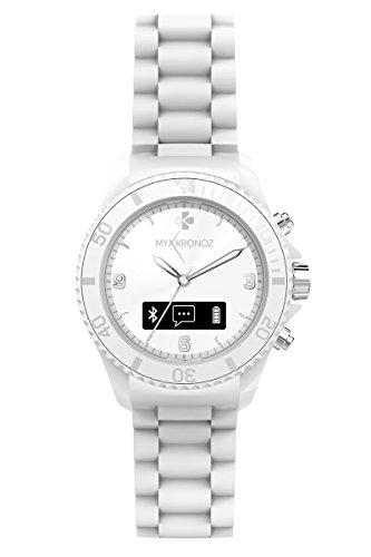 MyKronoz Zeclock Smartwatch con Funzione Smartphone con Movimenti al Quarzo