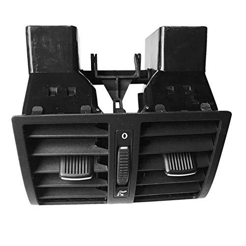 WEIWEITOE-DE Luftaustrittsdüsen hinten Mittelkonsolen-Baugruppe Klimaanlage für VW für Touran Auto Autozubehör, schwarz -