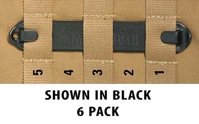 BLACKHAWK! Speed Clips (6-Pack #5), Olive Drab