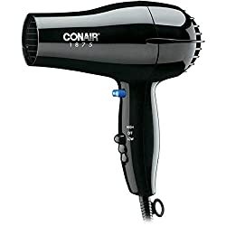 Hospitality Series 1875-Watt Compact Hair Dryer-Styler Black