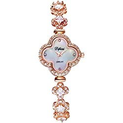 Diamond bracelet female form/ simple waterproof watch/Fashion quartz watch-F