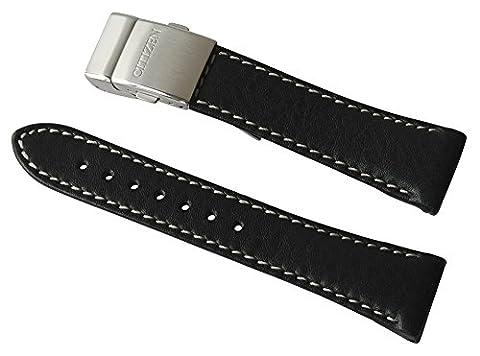 Citizen Ersatzband Uhrenarmband Leder 22mm für AS2020, AS2031, AS2030, AS4020