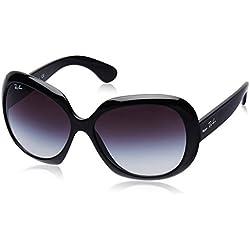 Ray-Ban RB 4098 Gafas de sol, Black, 60 para Mujer