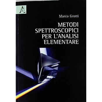 Metodi Spettroscopici Per L'analisi Elementare
