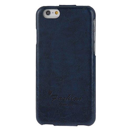 Phone case & Hülle Für IPhone 6 / 6S, PU-lederner Fall mit Art- und Weisezeichen ( Color : Grey ) Dark Blue