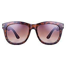 0bbc7edd231 50%off Tom Martin UV-400 Protected Sunglasses -Barbados- Wayfarer Classic -  Translucent Golden Lens