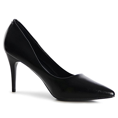 topschuhe24 1075 Damen Pumps High Heels Stilettos Schwarz