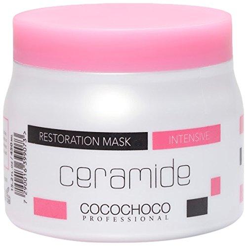 COCOCHOCO Professional Nachsorge Auswahl Ceramide Wiederherstellung Haar Maske, 450ml -