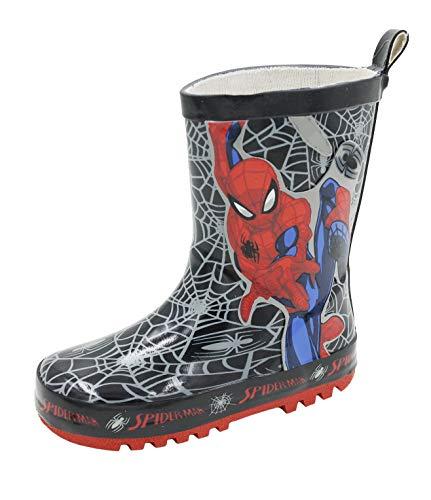 Childrens Marvel Spiderman Wellington Boots