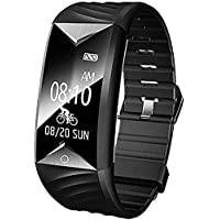 Willful Montre Connectée Podomètre Bracelet Connecté Smartwatch Etanche IP67 Femme Homme Enfant Sport Smart Watch Fitness Tracker d'Activité Cardio pour iPhone Samsung Huawei Android iOS Smartphone