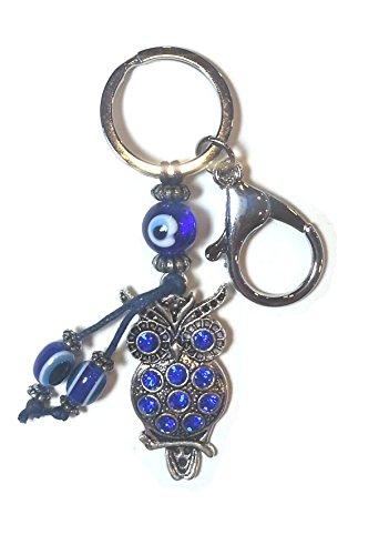 Llavero de la suerte, amuleta ojo turco