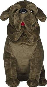 Dujardin Juets- Peluche crockdur 18 cm, Color marrón