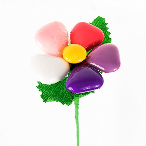 Margherita arcobaleno - fiore di confetto - confetti pelino di sulmona