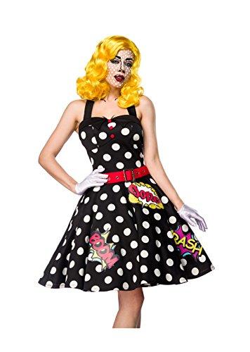Pop Art Girl Kostümset von Mask Paradise (Outfit Mädchen Kostüm Pop Art)
