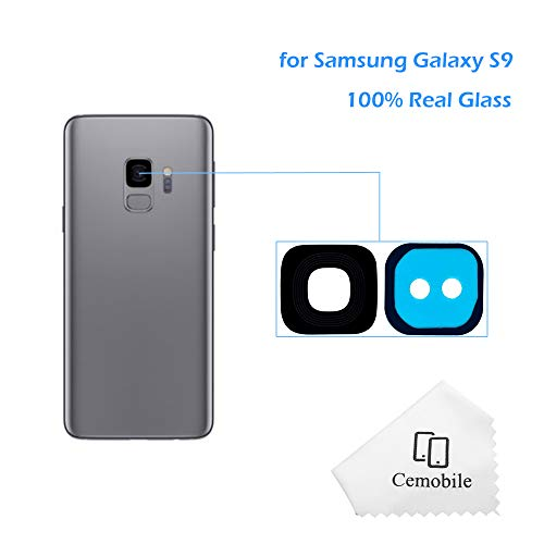 Cemobile Hinter Kamera Glas linse Abdeckung Kameraobjektiv mit Klebstoff Für Samsung Galaxy S9 G960F G960F/DS G960U G960W G9600