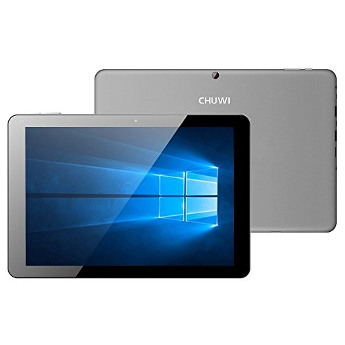 Preisvergleich Produktbild Chuwi Hi12 12 Zoll Tablet PC Windows 10  Android 5.1 Intel Z8350 Quad Core 4GB + 64GB WIFI dual Kamera OTG Bluetooth HDMI Ultrabook PC Grau
