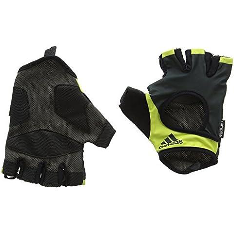 adidas ADGB-14123YLSS - Guantes de fitness, color negro, talla L