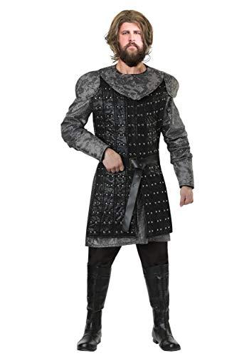 Mens Wolf Warrior Kostüm - M (Wolf Warrior Kostüm)