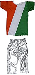 Tiranga Boy Dress Set (Tricolour, 28Inch)