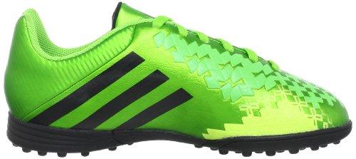 adidas Predito Lz Trx Tf J, Chaussures de football garçon Vert (Green/Black/Electricity)