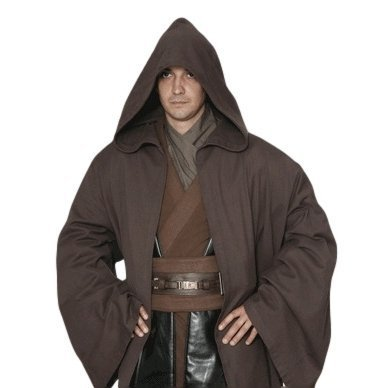 Traje traje de Star Wars Jedi de estilo bata