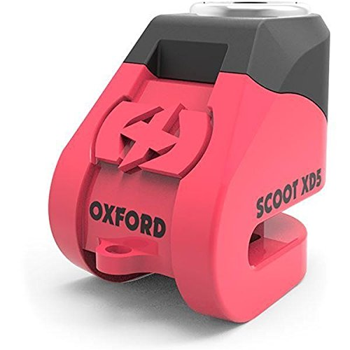 Motorcycle Oxford Scoot XD5 Disc Lock Pink