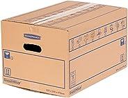 Bankers Box 6207201, Dubbellaags Verhuisdoos, 10 Stuks