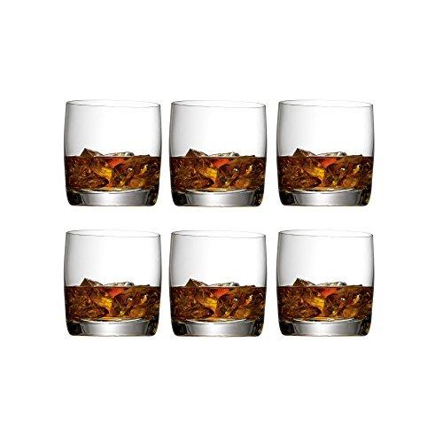 WMF Easy Whiskyglas Set 6-teilig 300ml Tumbler Whiskybecher spülmaschinengeeignet bruchsicher