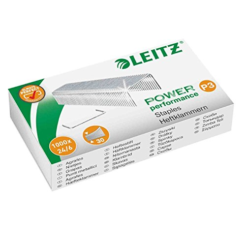 Leitz 55700000 Heftklammer (24/6 mm) 5000 Stück