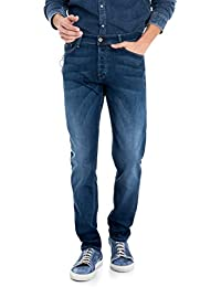 Salsa - Pantalons anti-odeur et anti-tache délavage moyen - Slender Slim Carrot Spartan - Homme