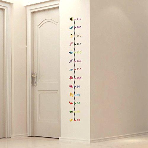Pegatina medidor altura animalitos para dormitorios bebes infantiles cuartos de juegos de OPEN BUY