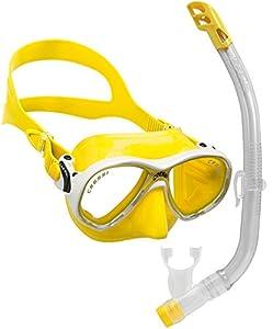 Cressi C/set marea VIP new - Pack de snorkel para niños de 7-13 años