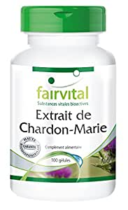 Extrait de Chardon-Marie - 100 gélules - Standardisé à 80% de sylimarine