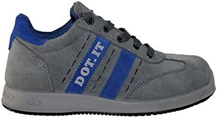 Zapatos de trabajo para hombre LEWER antideslizantes mod. FP87 S1P linea DOT.IT - 45 EU