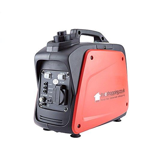 Generatore Di Inverter Silenzioso Digitale Portatile a Benzina 800W 1.3HP 40cc 230v