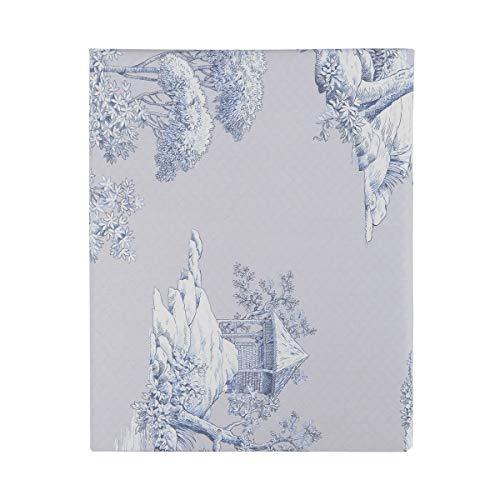 Preisvergleich Produktbild Essix Home Collection Bettbezug Eternité,  Blau,  blau,  200 x 200 cm