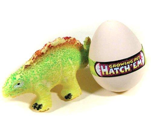 Wachsender Dinosaurier im Ei - in ein Gefäß mit Wasser legen, der Dino wird größer und schlüpft aus dem Ei (Spielzeug In Ei -)