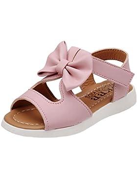 Igemy 1 Paar Sommer Kinder Sandalen Mode Bowknot Mädchen Pricness Schuhe