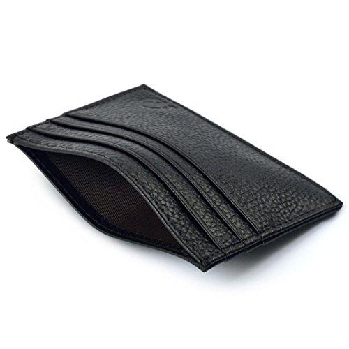 Zolimx Slim Kreditkartenhalter Mini Brieftasche ID Kasten Geldbeutel Beutel (Bund Elastischen Roll)