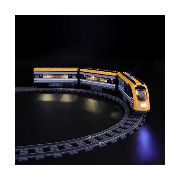 LIGHTAILING Set di Luci per (City Treno Passeggeri) Modello da Costruire - Kit Luce LED Compatibile con Lego 60197 (Non… 1 spesavip