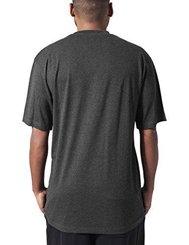 Urban Classics Herren T-Shirt Tall Tee Grau (charcoal 91)