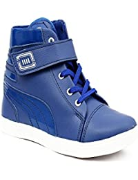 Skoene Casual Ankle Boot In Blue Color