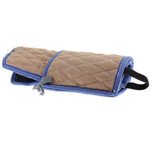 perfk Hunde Training Armschutz Arm Sleeve Protektor für Linker und Rechter Arm - Beige